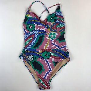 JCREW Floral Bathing Suit 🌸